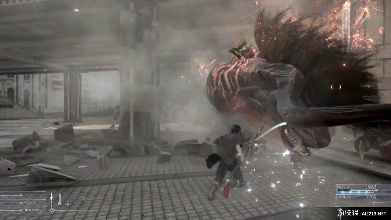 《最终幻想15》PS4截图(1)