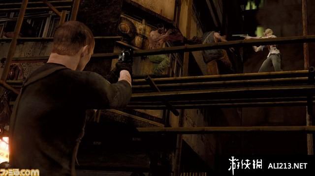 《生化危机6》3DS截图