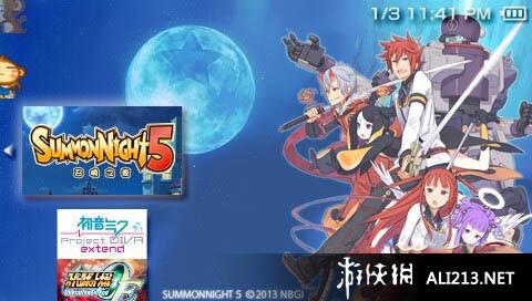 《召唤之夜5》PSP截图-1