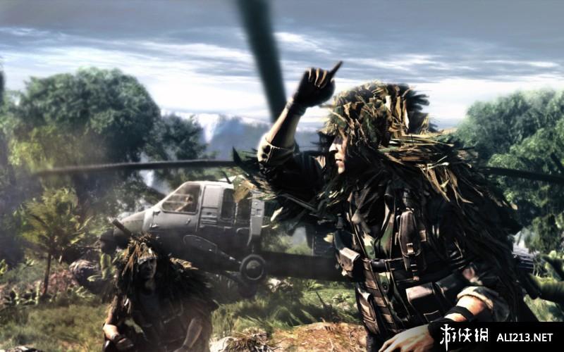 狙击手幽灵战士游戏图片欣赏