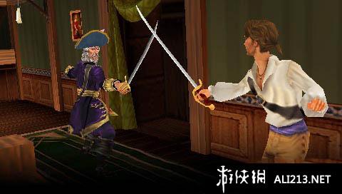 《席德 梅尔的海盗》PSP截图