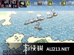 《大航海时代IV》NDS截图