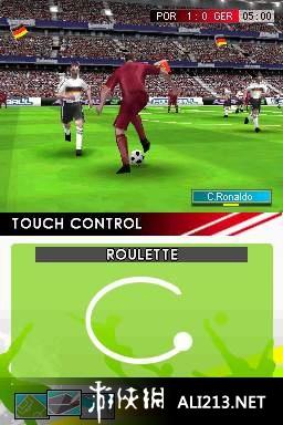 实况足球2009游戏图片欣赏