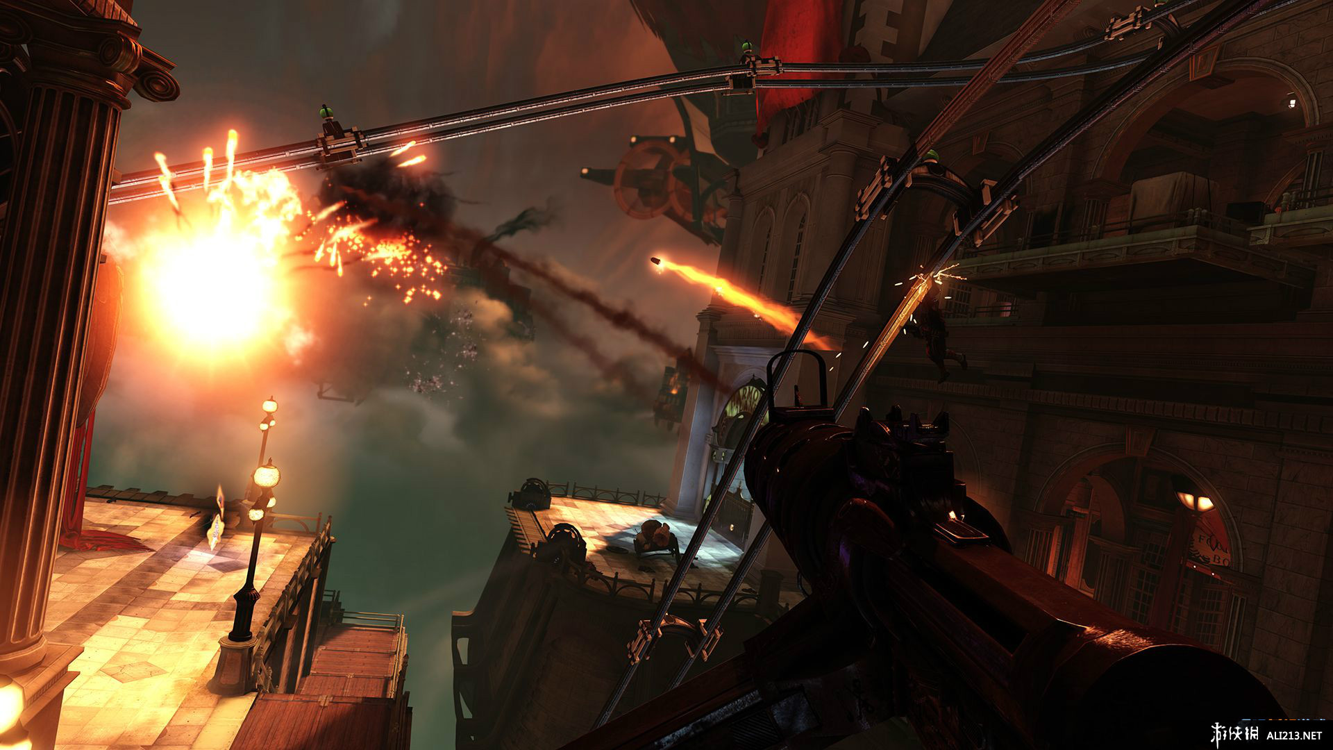 《生化奇兵 无限 完整版》PS3截图