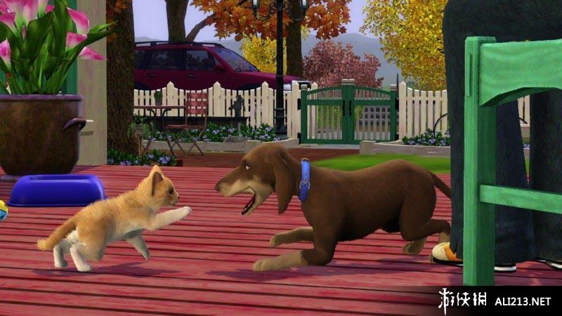 《模拟人生3 宠物》PS3截图