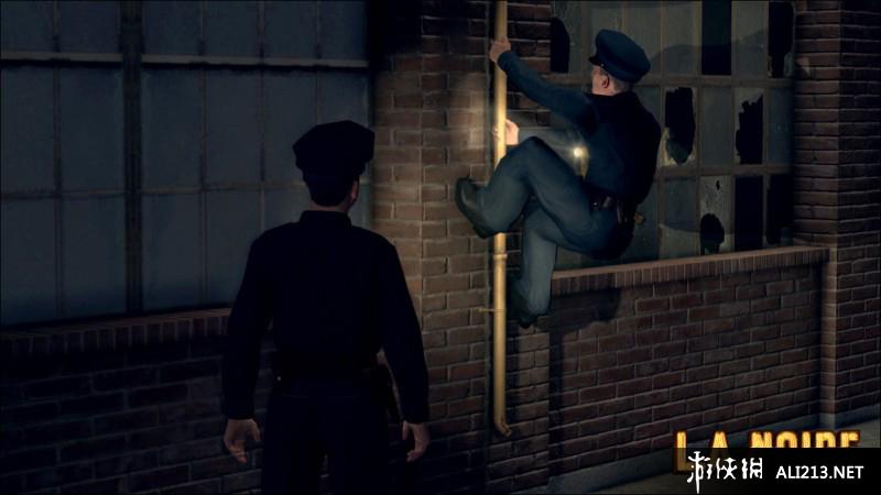 《黑色洛城》3DS截图