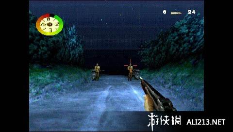 《荣誉勋章(PS1)》PSP截图