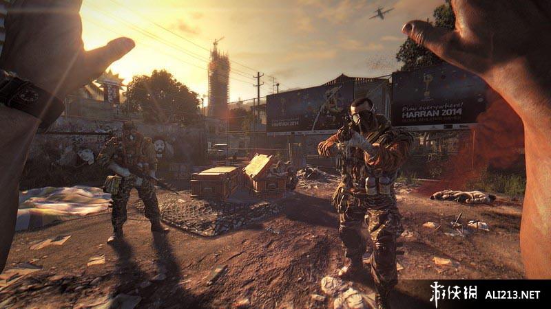 《消逝的光芒》PS3截图