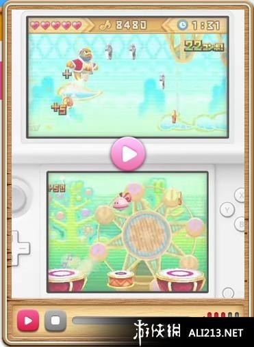 《星之卡比三重彩》3DS图片视频(2)_图库截图葫芦娃游戏第13章组队通关游侠6图片