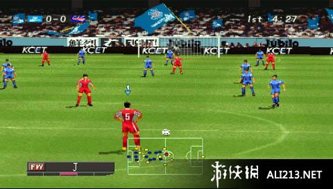 实况足球甲A联赛(PS1)游戏图片欣赏