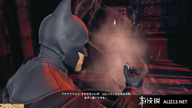 《蝙蝠侠 阿甘起源》XBOX360截图