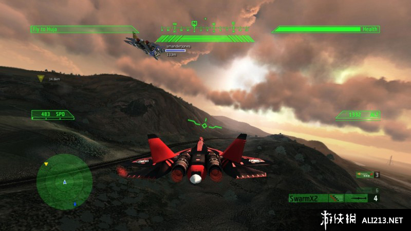 《简氏先进攻击机》PS3截图