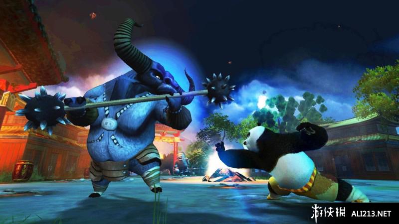 《功夫熊猫》ps3截图