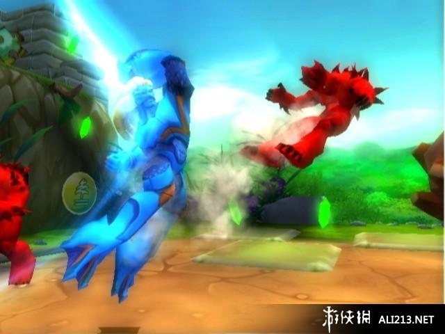 高米迪战士 自然之王 wii截图图片 30 游侠图库