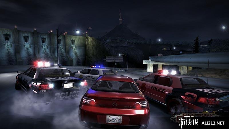极品飞车10:卡本峡谷游戏图片欣赏