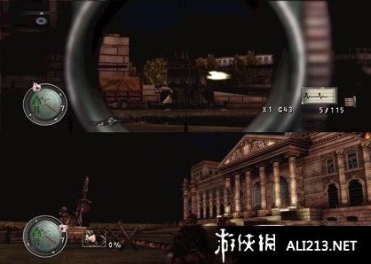 《狙击精英》WII截图