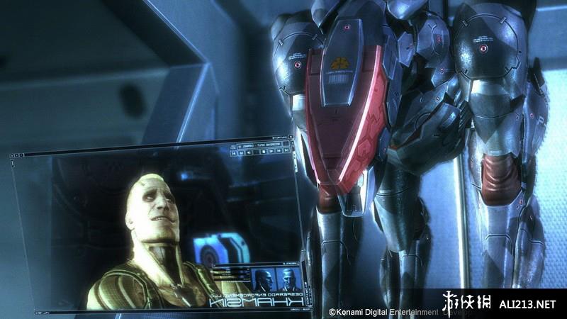 《合金装备崛起 复仇》PS3截图