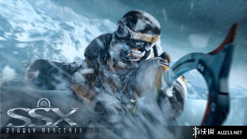 SSX极限滑雪游戏图片欣赏