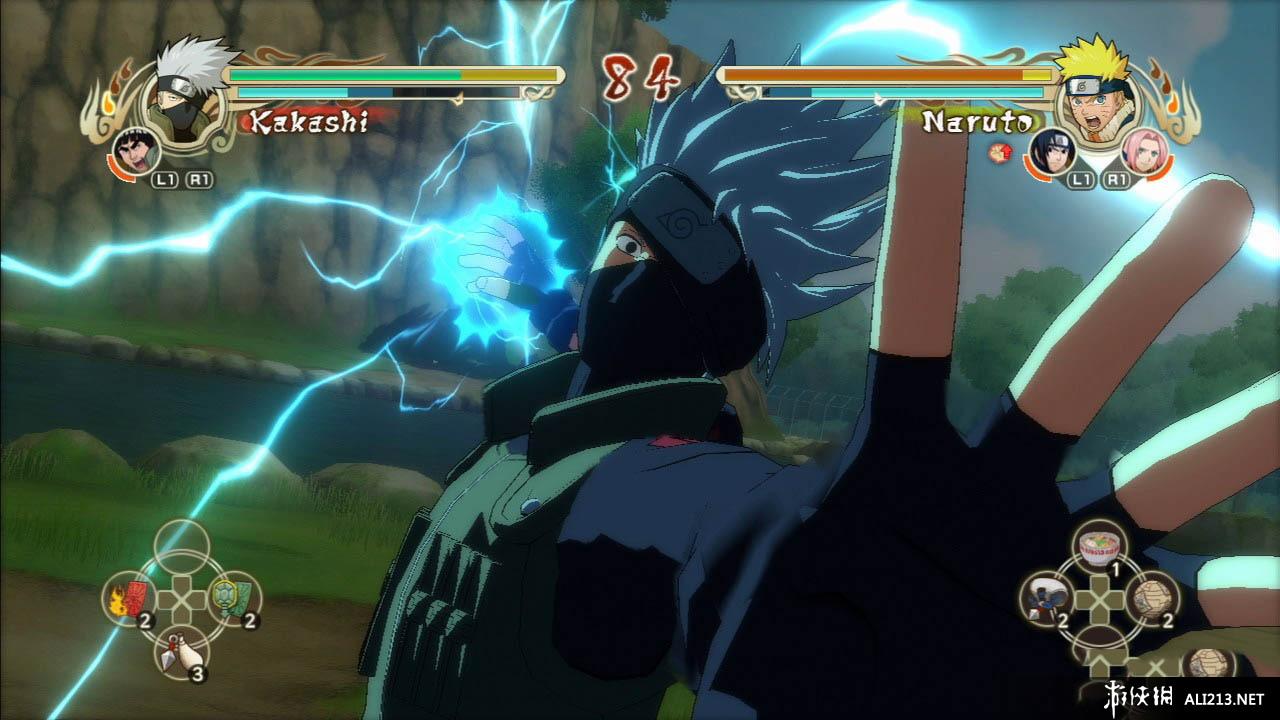 《火影忍者 疾风传 究极风暴2》PS3截图