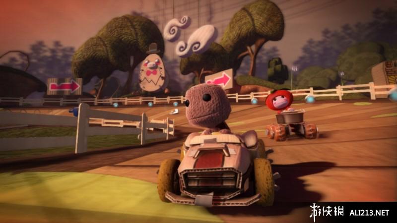 小小大星球卡丁车游戏图片欣赏