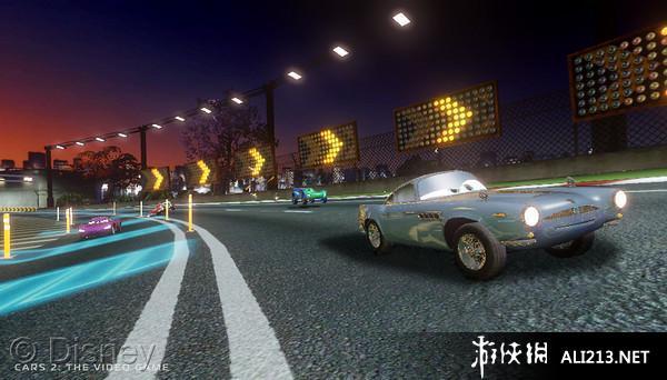 《汽车总动员2》3DS截图(1)