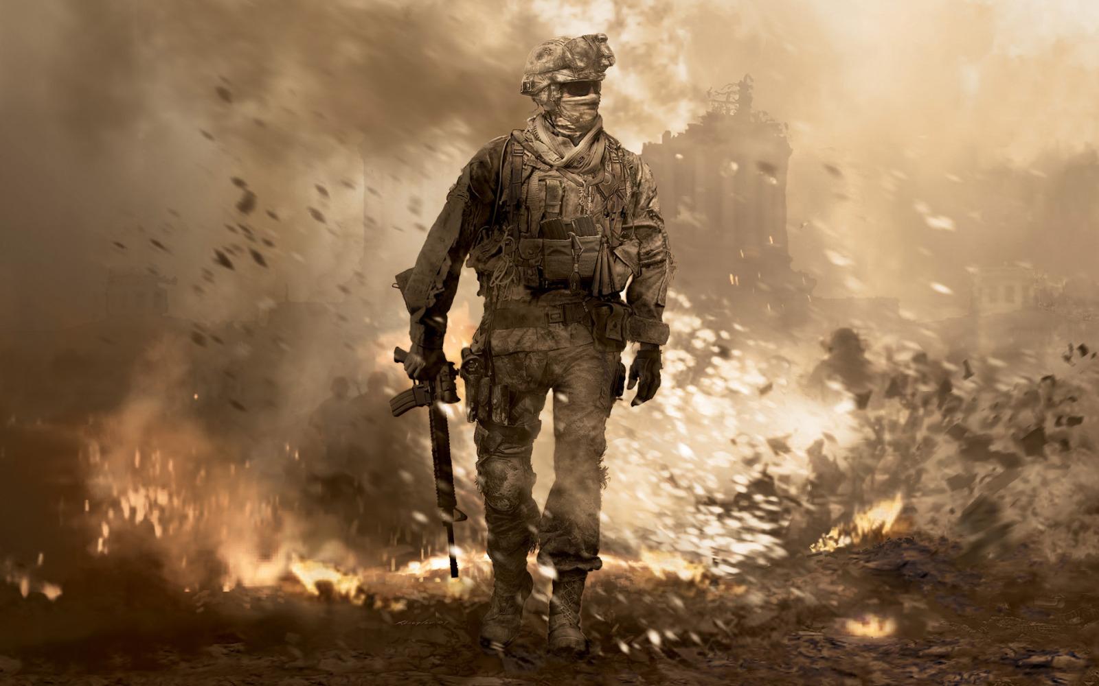 《使命召唤6现代战争2》高清壁纸