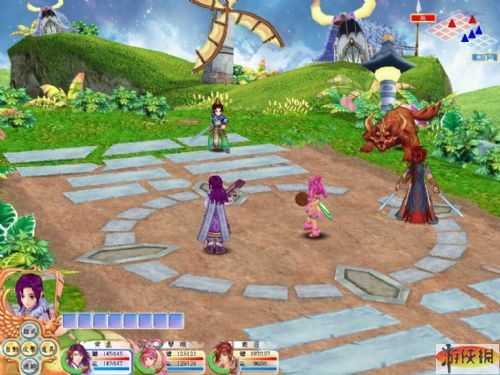 《幻想三国志4》游戏截图-19