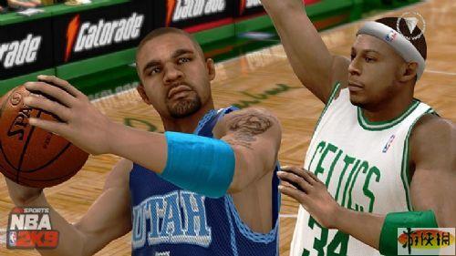 《美国职业篮球2K9》游戏截图-14