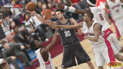 《美国职业篮球2K9》游戏截图-6