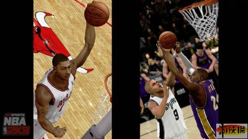 《美国职业篮球2K9》游戏截图-15