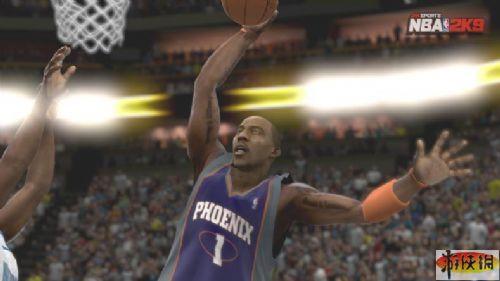《美国职业篮球2K9》游戏截图-10