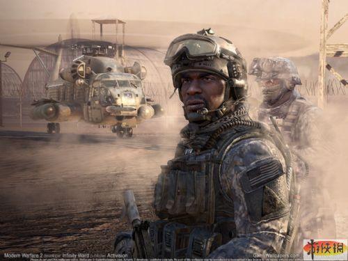 《使命召唤6现代战争2》游戏壁纸【1024x768】-2