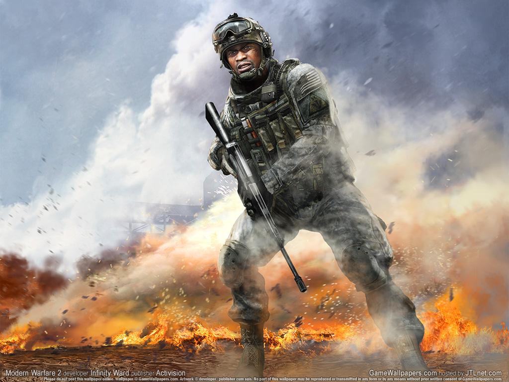 使命召唤6现代战争2 游戏壁纸