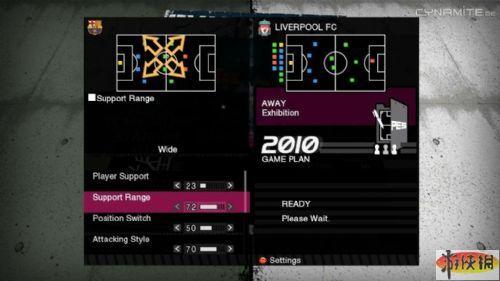 《实况足球2010》游戏截图3-2