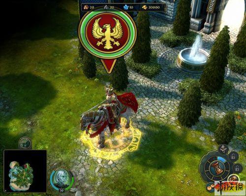 《魔法门之英雄无敌6》精美游戏截图—1-3