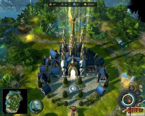 《魔法门之英雄无敌6》精美游戏截图—1-5