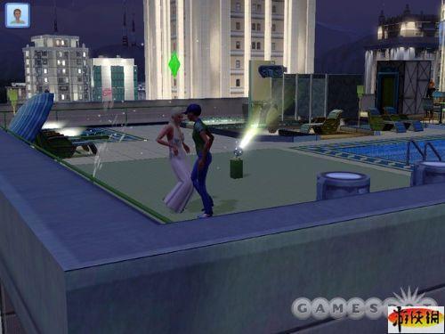 《模拟人生3:深夜狂欢》精美游戏截图—3-5