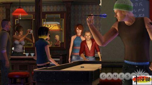 《模拟人生3:深夜狂欢》精美游戏截图—3-1