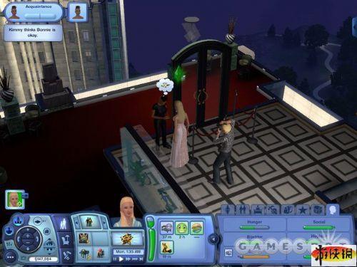 《模拟人生3:深夜狂欢》精美游戏截图—4-5