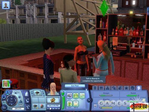 《模拟人生3:深夜狂欢》精美游戏截图—5-3