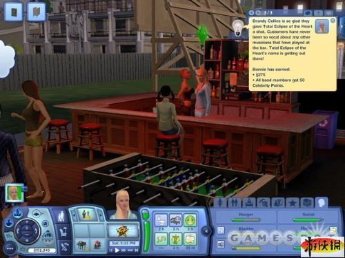 《模拟人生3:深夜狂欢》精美游戏截图—5-2