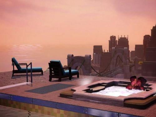 《模拟人生3:深夜狂欢》精美游戏壁纸—1-1