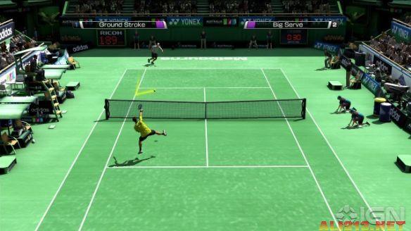 《VR网球4》游戏截图1