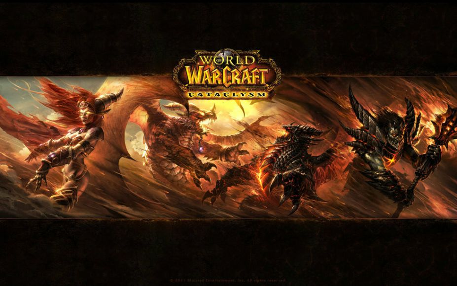 死亡之翼来袭 魔兽世界最红boss壁纸