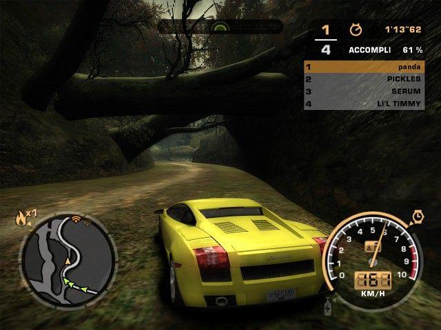 《极品飞车9:最高通缉》游戏截图-1(1)