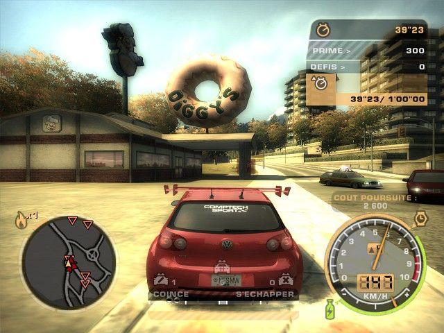 《极品飞车9:最高通缉》游戏截图-1