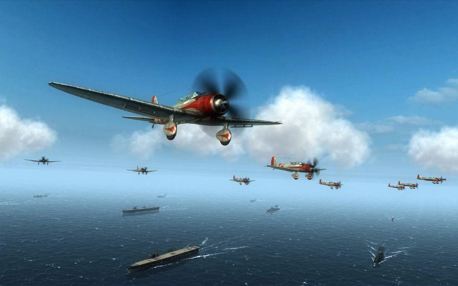 《空中冲突:太平洋航母》游戏截图-2