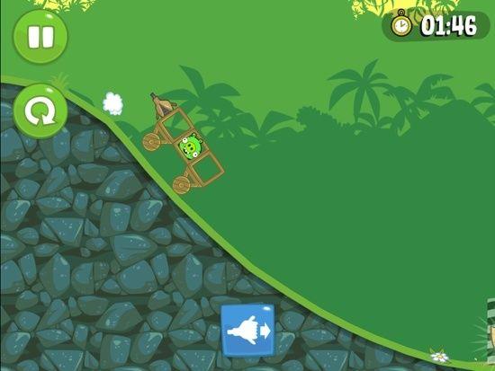 《愤怒的小鸟:捣蛋猪》游戏截图-3