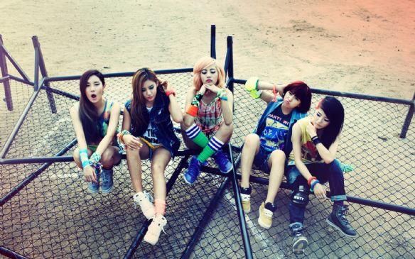 韩国美女组合glam高清壁纸