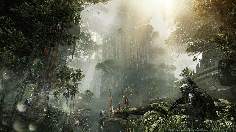 《孤岛危机3》游戏截图-1